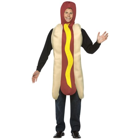 hot dog adult halloween costume one size - Wholesale Halloween Costumes Phone Number