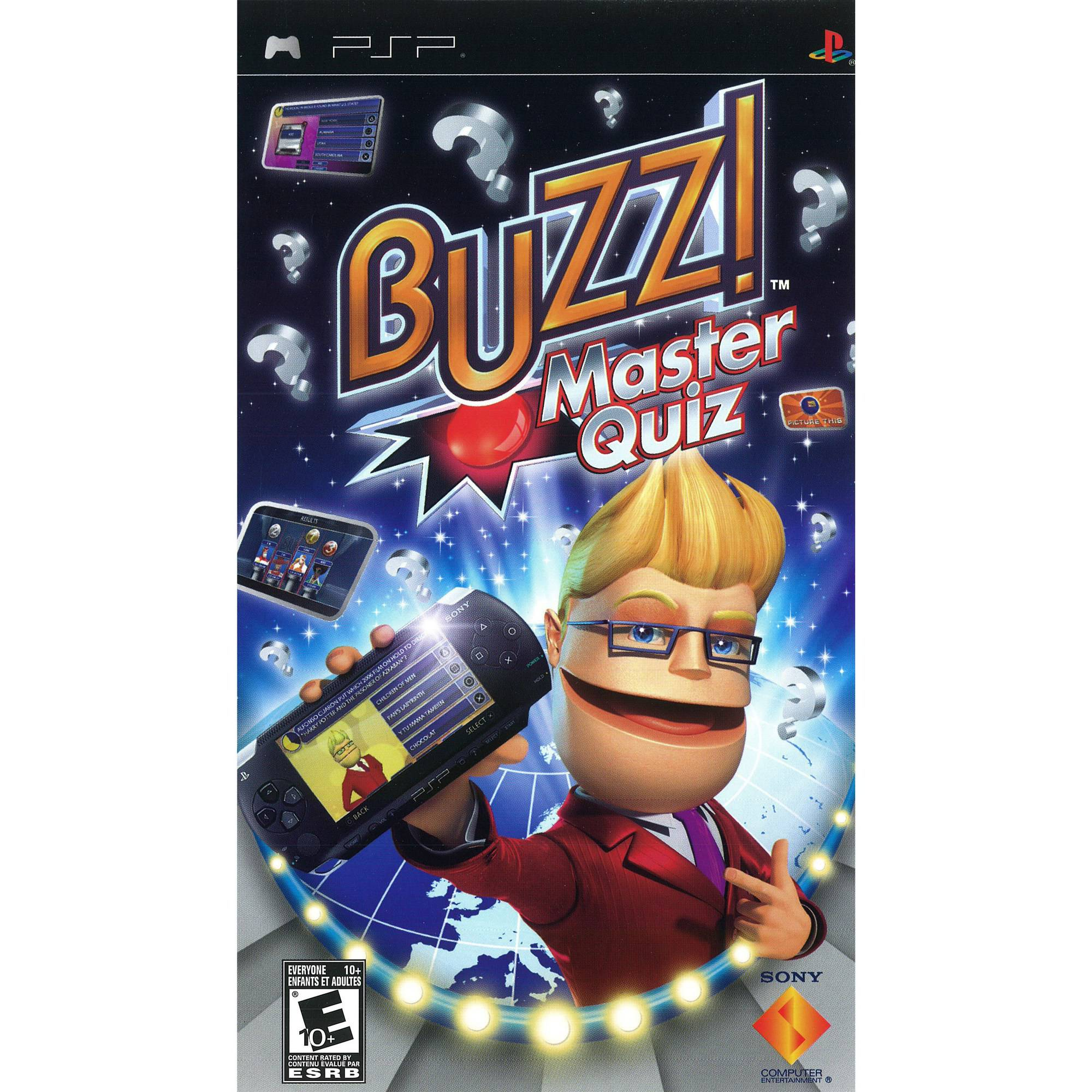 Buzz! Master Quiz (PSP) - Pre-Owned