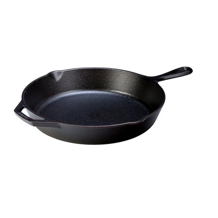 "Lodge Logic 12"" Skillet, Seasoned Cast Iron, L10SK3, with assist handle"