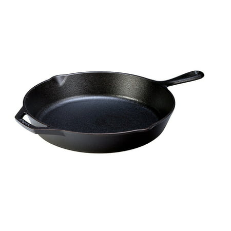 Lodge Pre-Seasoned 12 Inch. Cast Iron Skillet with Assist Handle, L10SK3