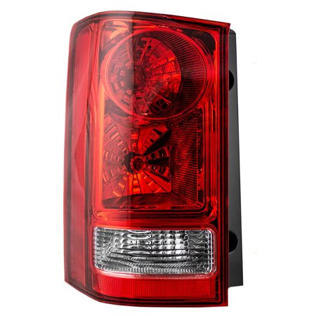 BROCK Taillight Tail Lamp Driver Replacement for 09-15 Honda Pilot SUV 33550SZAA02