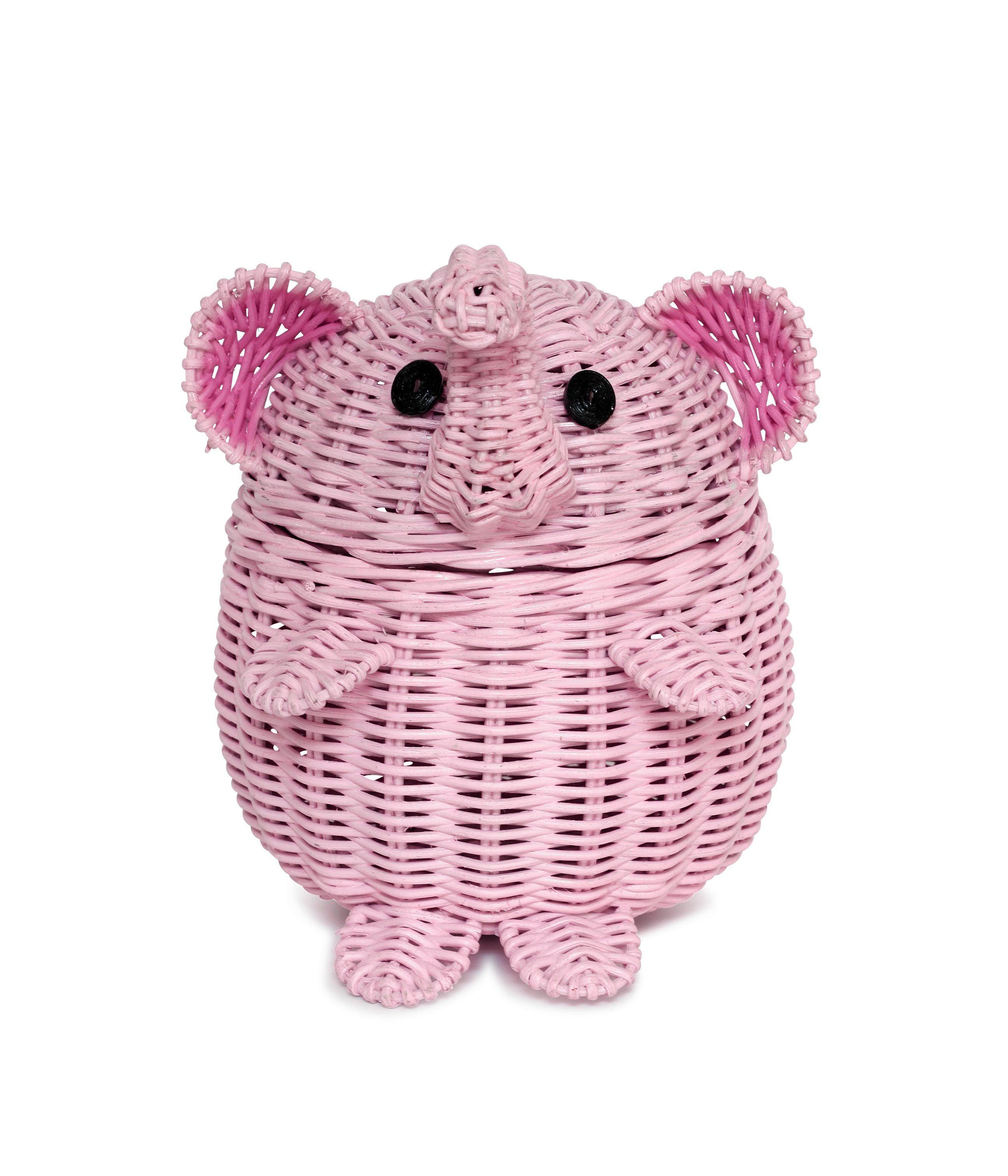 Cat toys basket Girls room storage Kids room storage Pink desk organizer Girls room decor Cat lover Crochet basket Pink toy basket