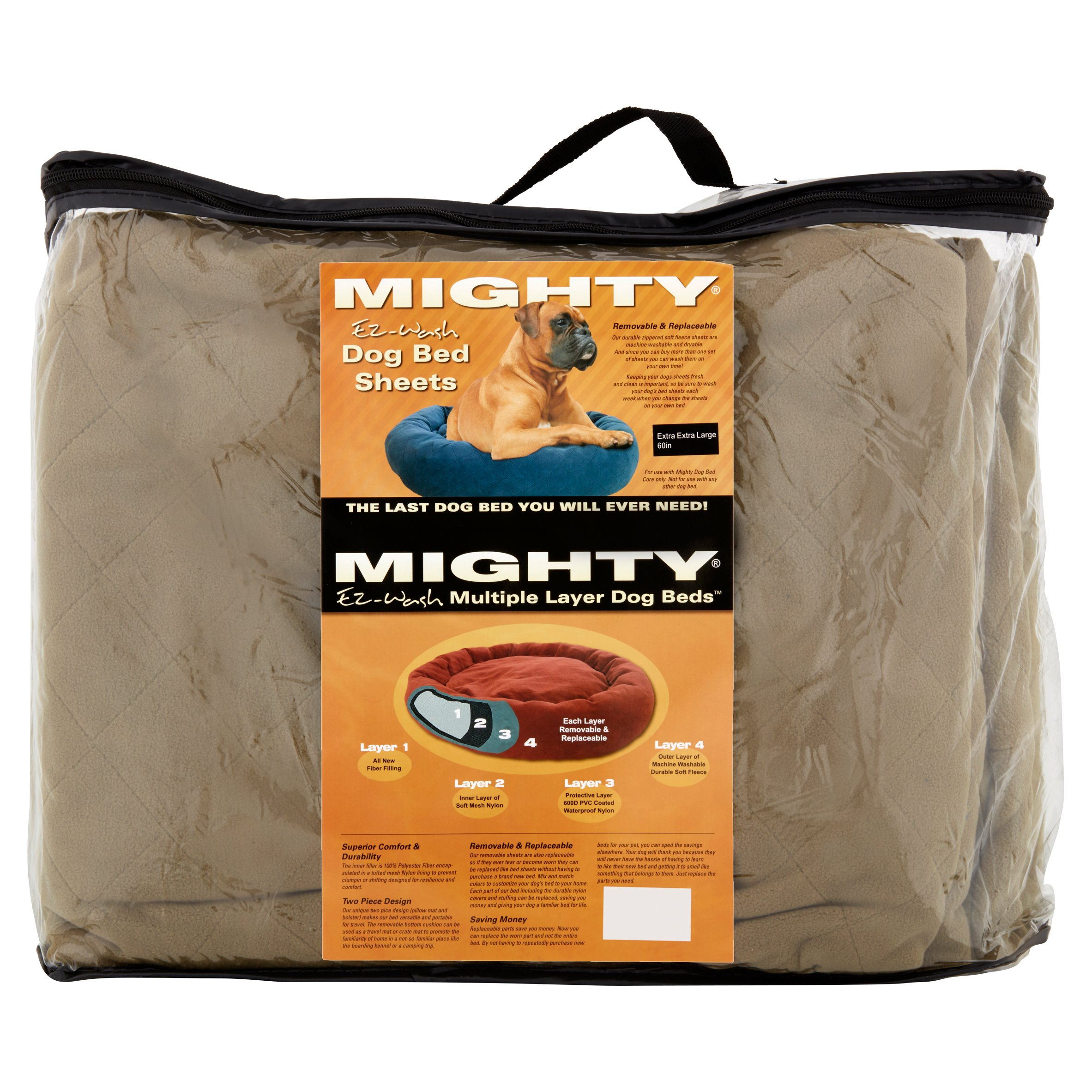 Mighty Ez-Wash Multiple Layer Dog Bed Sheets