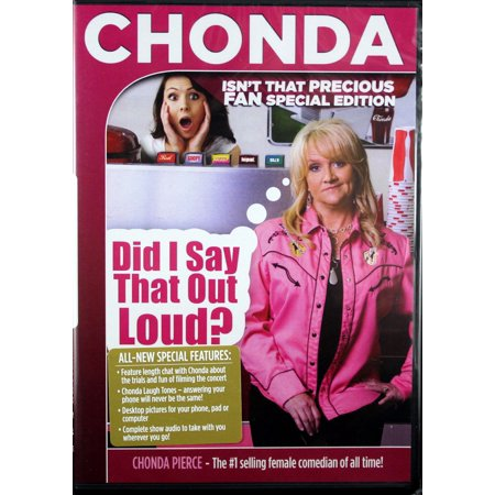 Chonda Pierce Did I Say That Out Loud? DVD