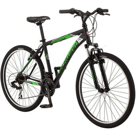 26  Schwinn Sidewinder Mens Mountain Bike  Matte Black Green