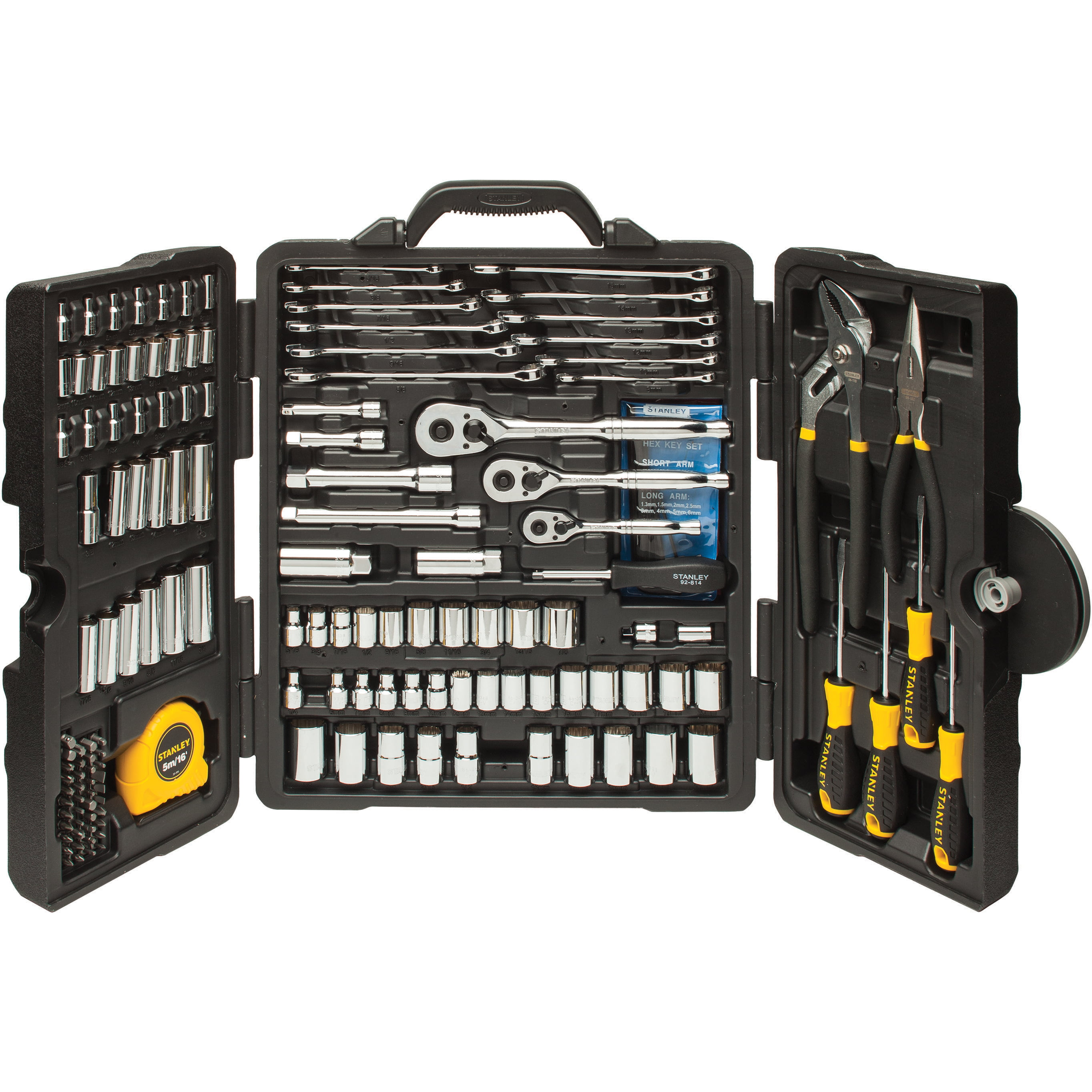 STANLEY STMT81031 170pc Mixed Tool Set by Stanley Black & Decker