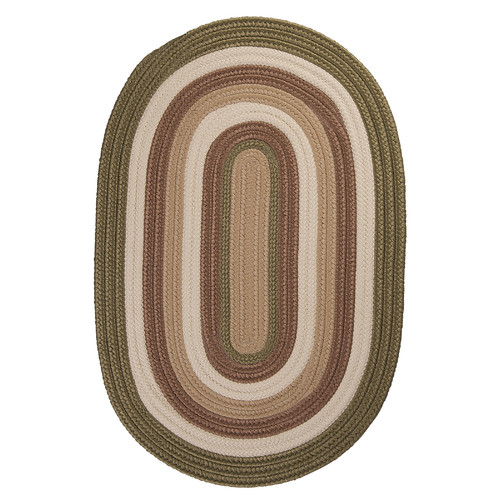 Colonial Mills Brooklyn Moss Braided Indoor/Outdoor Area Rug