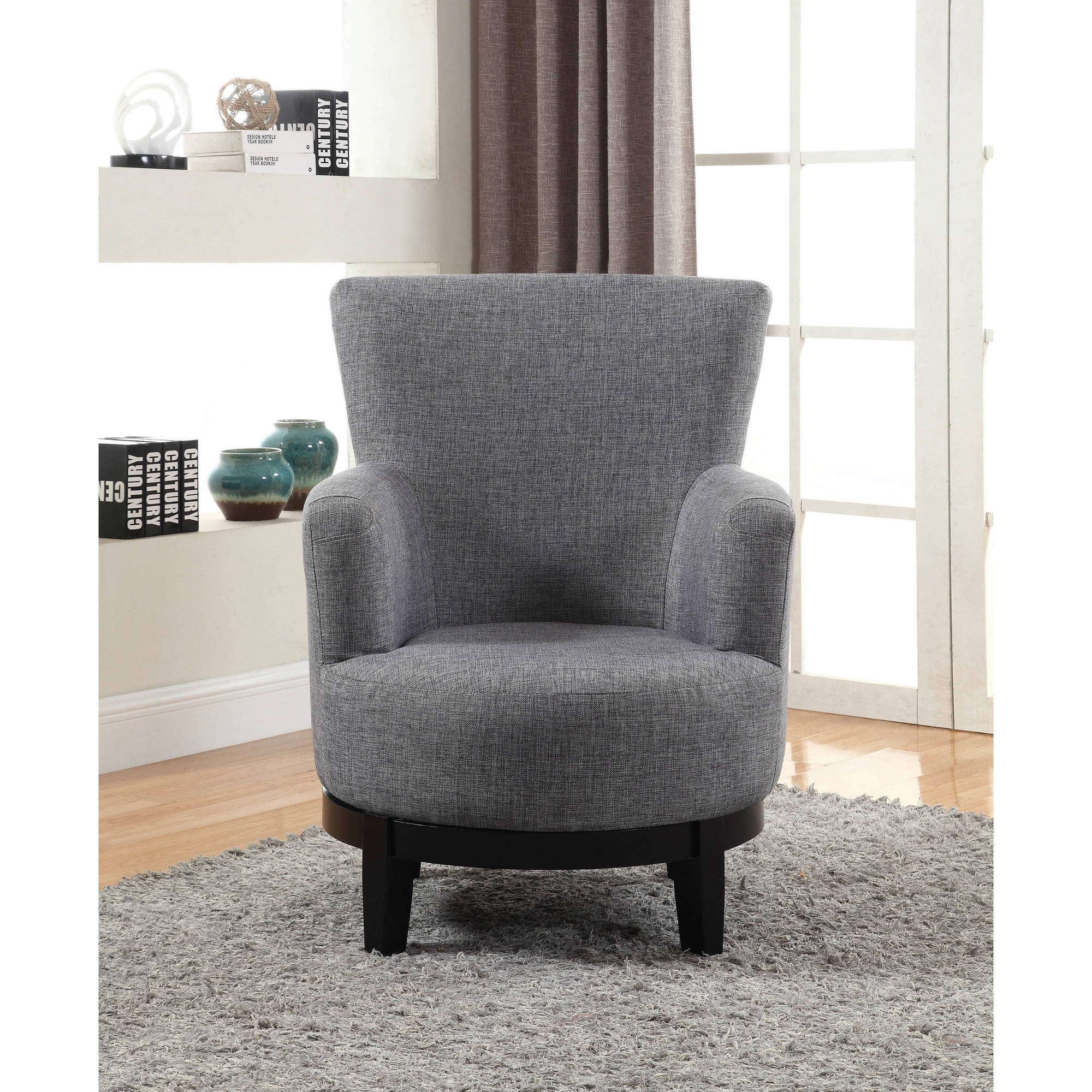 Astonishing Nathaniel Home Dominic Swivel Accent Chair Grey Onthecornerstone Fun Painted Chair Ideas Images Onthecornerstoneorg