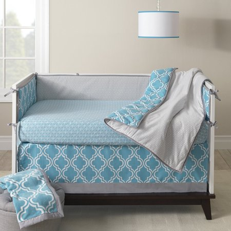 Lambs & Ivy Ryan Collection Fitted Sheet, Lattice ()