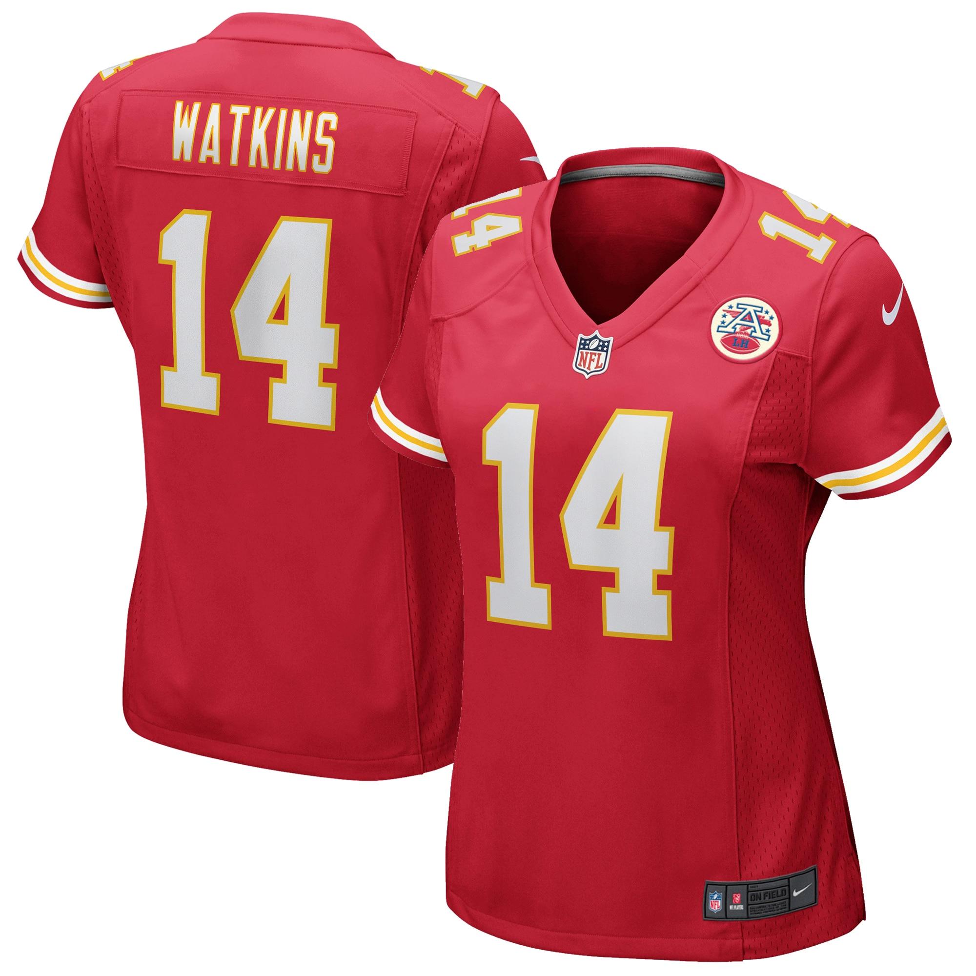 Sammy Watkins Kansas City Chiefs Nike Women's Game Jersey - Red - Walmart.com