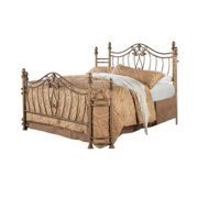 Sydney Eastern King Bed Antique Brushed Gold