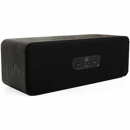 GOgroove BlueSYNC MC Wireless Wood Bluetooth Speaker System with Built-In Controls for Smartphones, Tablets, MP3 Players, Laptops & More! Features: This Certified Refurbished product is manufacturer refurbished, shows limited or no wear, and includes all original accessories plus a 90-day limited hardware warranty. Full-range, stereo speakers delivers rich, full soundSubwoofer and dula passive radia