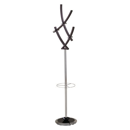 Acme Coat Rack - Acme Furniture Trudy Coat Rack with Umbrella Holder