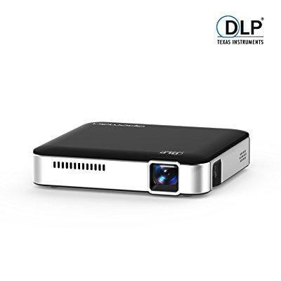 APEMAN Mini Pocket LED DLP Projector HD Built-in Battery ...