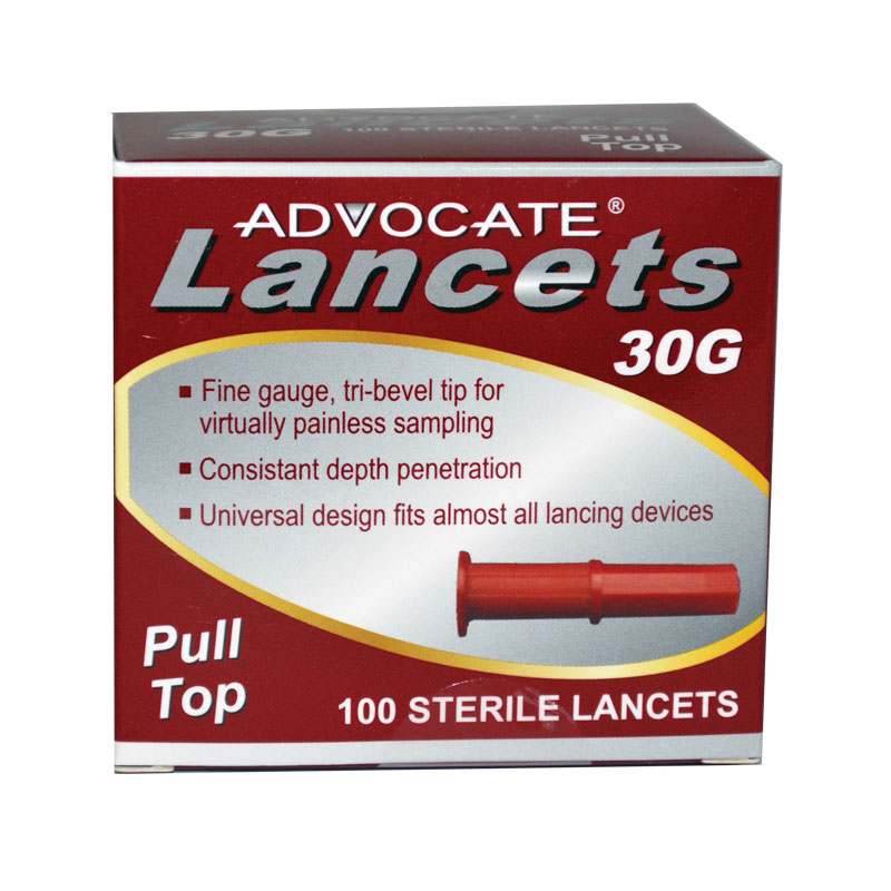 Advocate Pulltop Lancets 100 Count