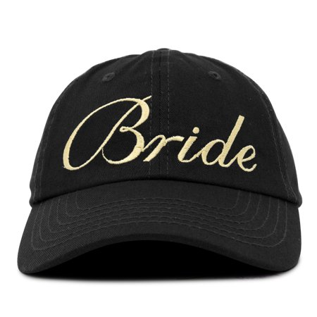 DALIX Bachelorette Party Hats Bride Squad Dad Caps Wedding Bridal Shower -