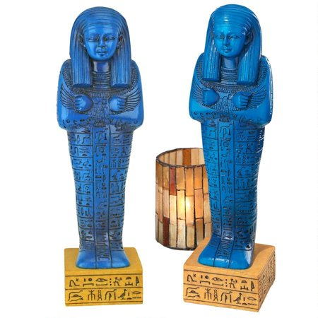 Design Toscano Egyptian Ushabti Grave God Statue: Set of Two