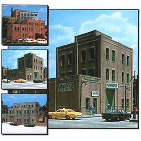 - DPM 36200 HO Rectangular Window Industrial Building Kit
