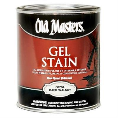 Dark Walnut Gel Stain~ Quart