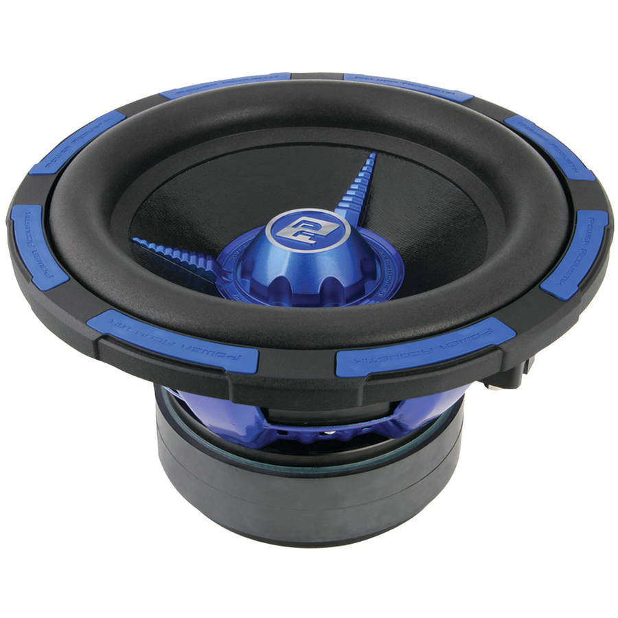 "Power Acoustik MOFOS-12D4 Mofo Type S Series Subwoofer (12"", 2,500 Watts Max, Dual 4 Ohms)"