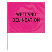 Presco Products Co Marking Flag, Pink Glo, 4530PGBK381-188