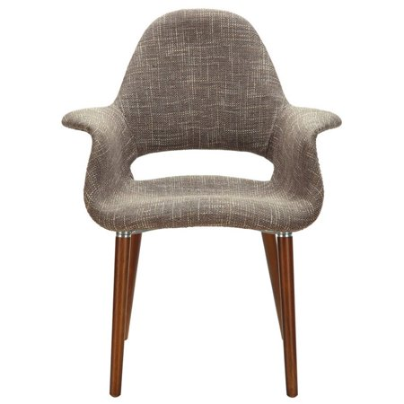 LexMod Veer Taupe Accent Chair - image 1 of 4