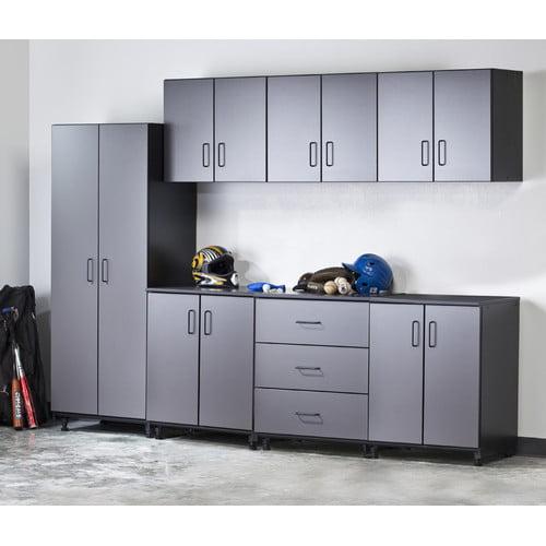 Tuff Stor Tuff-Stor Tough Storage 7.5' H x 9.5' W x 2' D 7-Piece Storage System