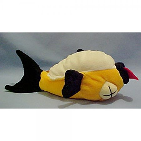 FLOATY THE FISH * MEANIES * Series 2 Bean Bag Plush Toy From The Idea - Animal Floaties