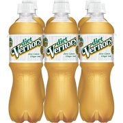 Diet Vernors Caffeine-Free The Original Ginger Soda, 0.5 L, 6 Count