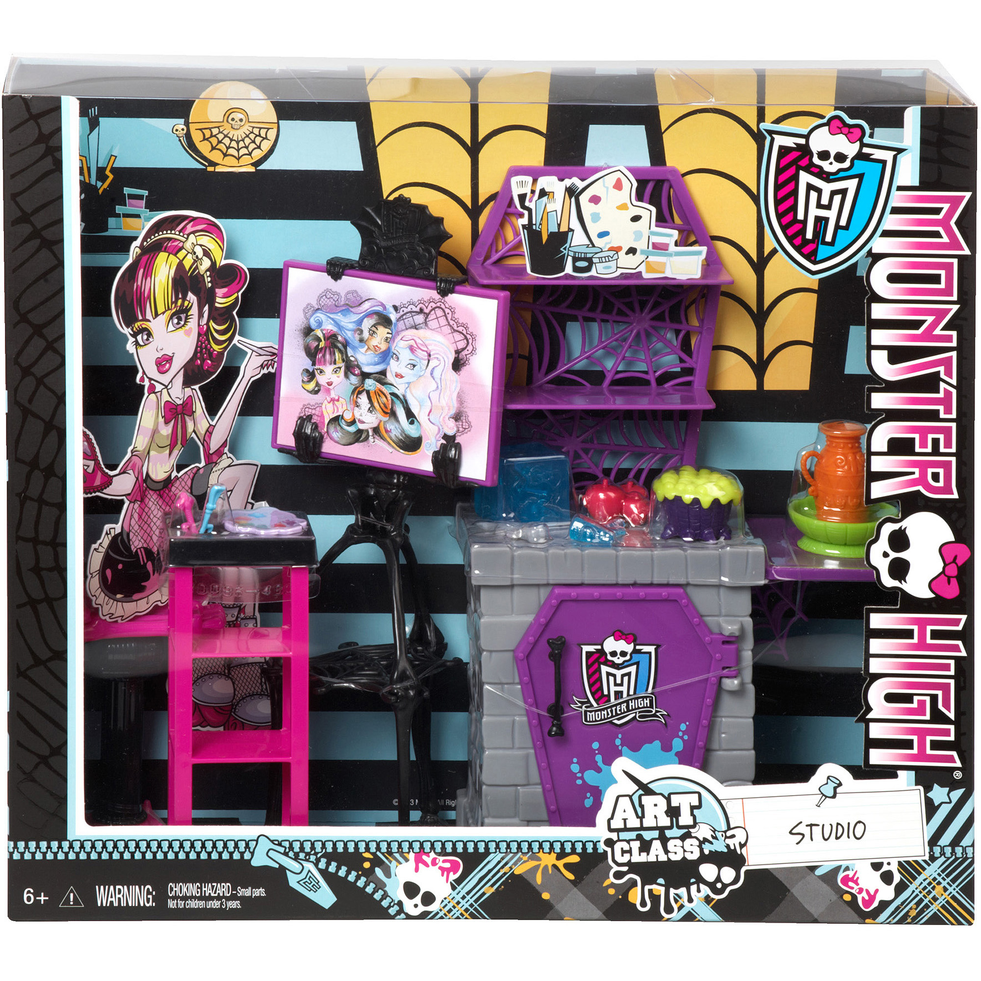 Monster High School Art Class Accessory