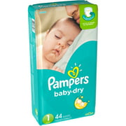 Pampers Baby Dry Diapers, Big Pack (Choose Your Size)