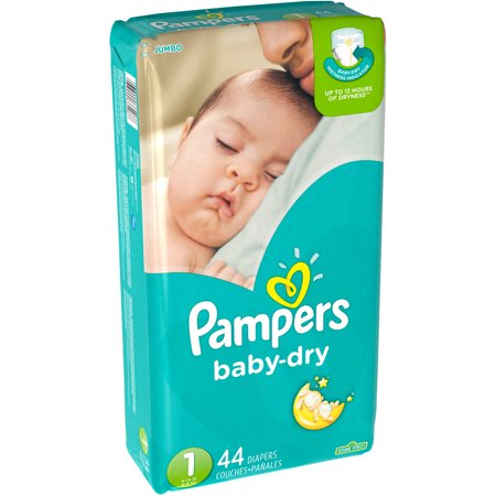 Pampers Baby Dry Diapers Big Pack Choose Your Size