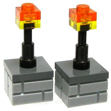 Minecraft Torch (LEGO Minecraft Pair of Torches)