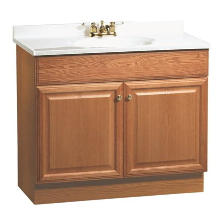 Rsi Home Products Richmond Bathroom Vanity Cabinet With Top Fully
