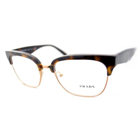 601a2f7b9c80 Prada Eyeglasses VPR 30R 2AU-1O1 Havana 52mm - Walmart.com
