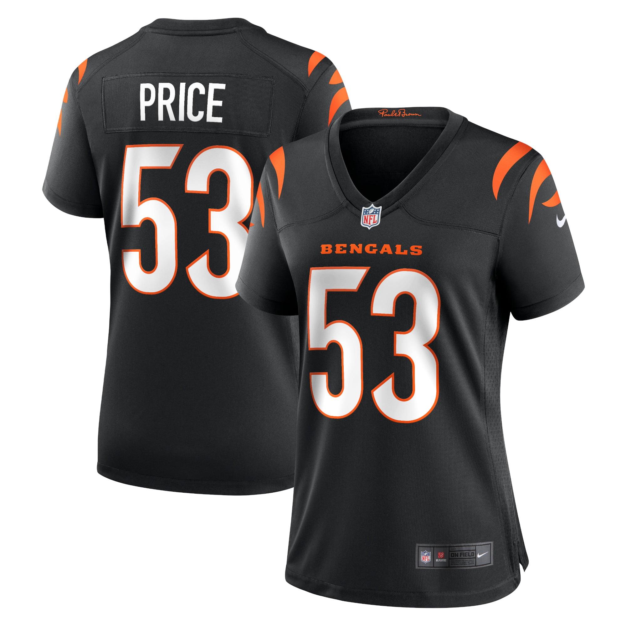 Billy Price Cincinnati Bengals Women's Nike Game Jersey - Black - Walmart.com
