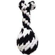 Super Scooch Rope Drumstick With Squeaker Dog Toy, 6.5""
