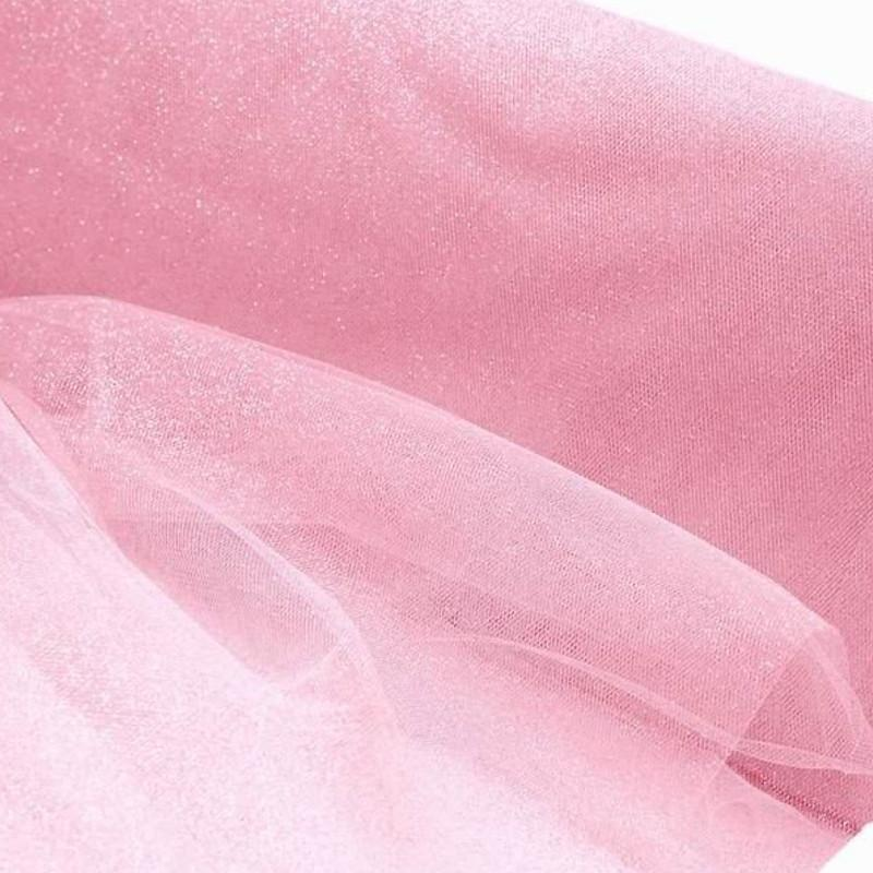 """Efavormart 54 x 15yards 5.5"""" x 10yd Wholesale Wedding Party Event Decorative PRINCESS Glitters Tulle For Arts And Crafts"""