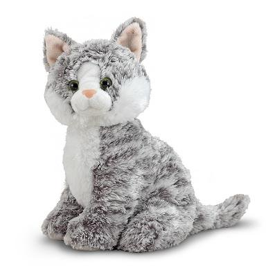 Melissa & Doug Greycie Tabby Cat Stuffed Animal Doug Puzzles Stuffed Animals