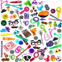 Carnival prizes toys assortment for prizes- party favors for kids- 100 pc toys stocking stuffers