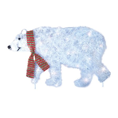 collections etc polar bear parade christmas yard decoration - Walmart Christmas Yard Decorations