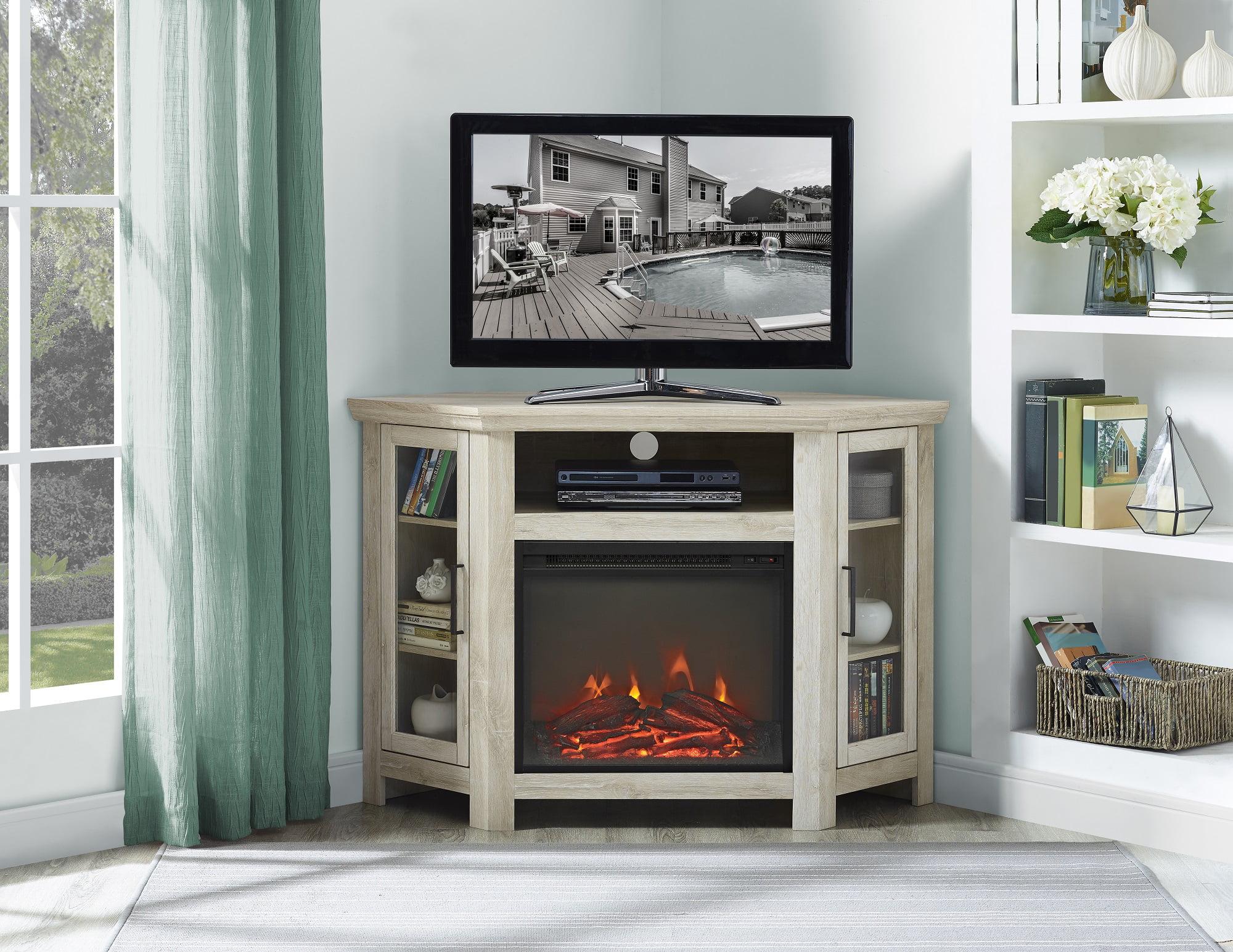 Corner Fireplace TV Stands