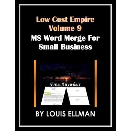 Low Cost Empire Volume 9 - Microsoft Word Merge for Small Business -