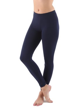 d12775487bf Product Image Womens Cotton Blend Full Length Leggings Super Soft Fabric