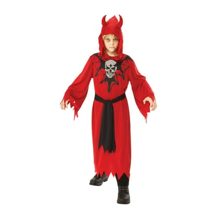 Boys Skeleton Robe Costume - Skeleton Boy Costume