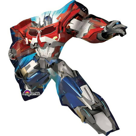 Transformers Optimus Prime Jumbo Foil Balloon (Transformer Pinata)