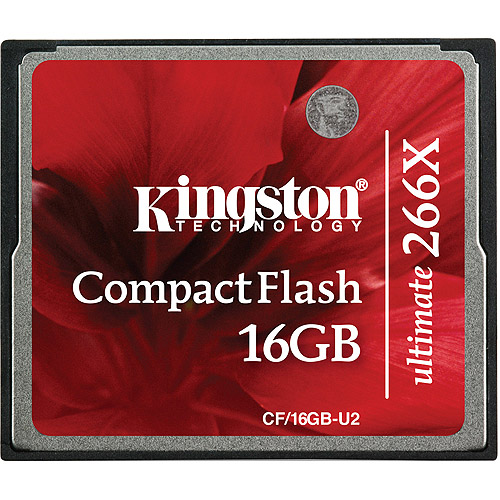 Kingston 16GB Ultimate CompactFlash 266x with Recovery Software