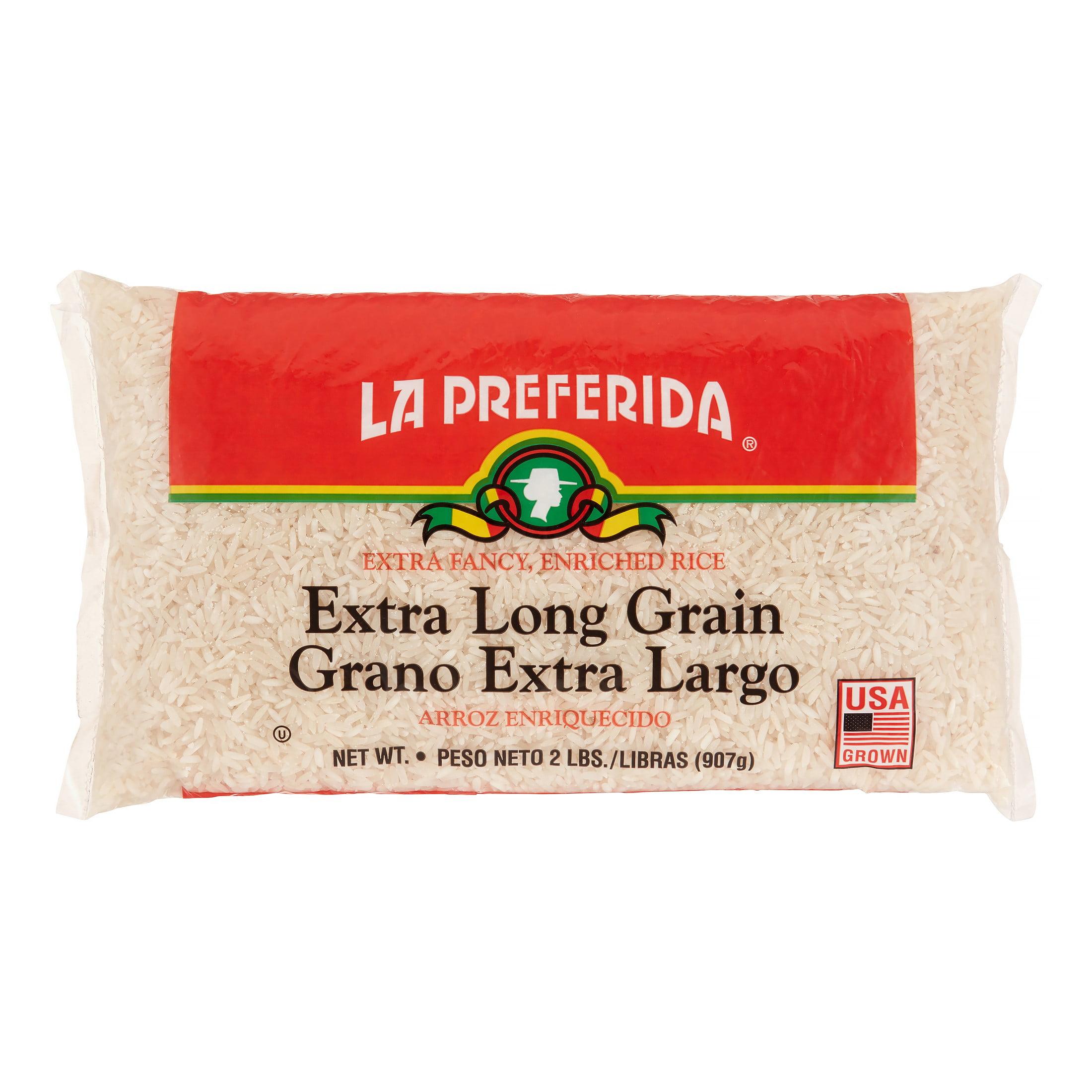 (4 Pack) La Preferida Extra Long Grain Rice 2 lbs