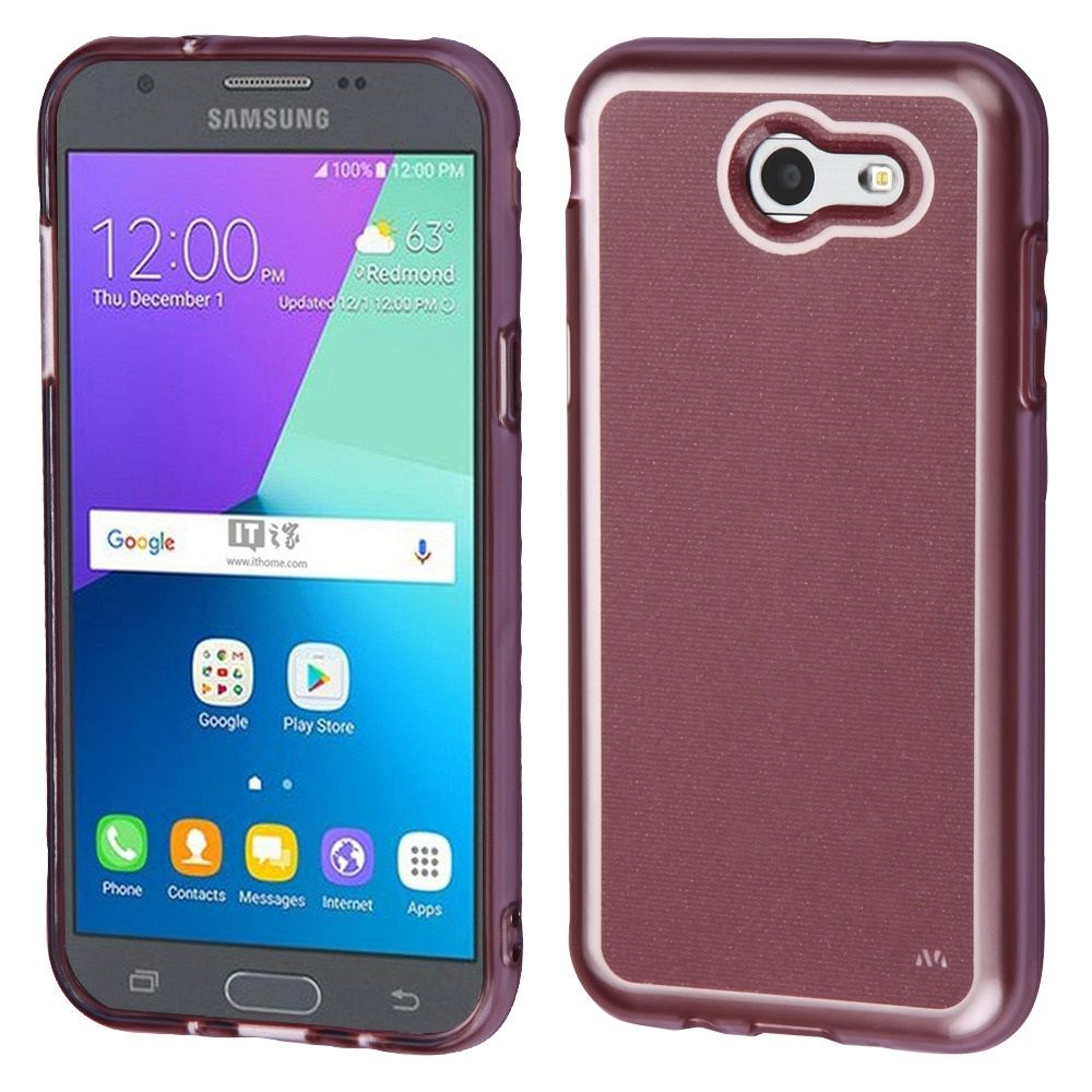 Samsung Galaxy Amp Prime 2 Case J3 2017 Whole Iron Shield Hybrid Emerge By Insten Premium