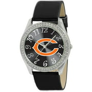 Game Time NFL Women's Chicago Bears Glitz Watch, Black